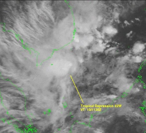 Tropical Depression 32W 1999