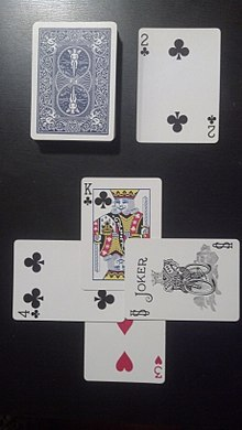 The Drawn Trump Suit Is A Club Card 2 Of Clubs South Leads Sloughs With 3 Hearts West Attempts To 4 North Raises