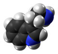 Tryptamine molecule from xtal spacefill.png