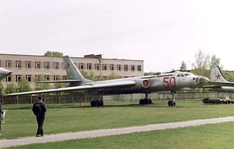 Tupolev Tu-16 - Tu-16 bomber at the Monino Museum (1998)