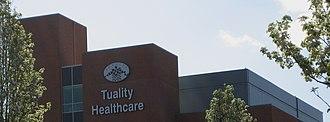 Tuality Healthcare - Image: Tuality Health Care building Hillsboro, Oregon