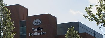 English: Tuality Healthcare in Hillsboro