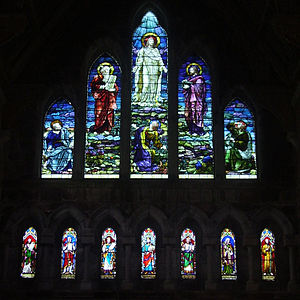 St Mary's Cathedral, Tuam - Image: Tuam West Window