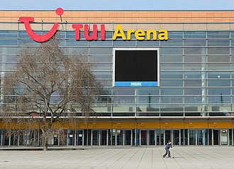 TUI Arena - Image: Tui Arena frontal