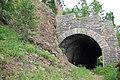 Tunnel 18, place of 1904 last spike ceremony. Circum-Baikal Railway by trolleway, 2009 (31431218054).jpg