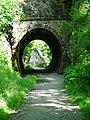 Tunnel Along the Keswick Railway Cyclepath - geograph.org.uk - 28283.jpg