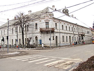 Turda County - The Turda County Court Building of the interwar period. Over time, the building has been the Turda mayor's office, the local court, and a penitentiary.