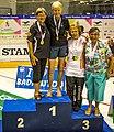 Turin, Italy…2013 WMG medal presentations…Open WD 70…!st Roslyn & Sally, 3rd Marg & Judy (10831134884).jpg