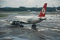 TC-JNE - A332 - Turkish Airlines