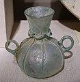 Two-handled jar, Egypt, Abbasid, 8th-9th century AD, blown glass with trailed decoration - Princeton University Art Museum - DSC06833.jpg