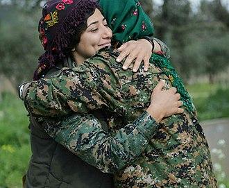 "Lag Jaa Gale - ""Gale lagana"" -Kurdish women"