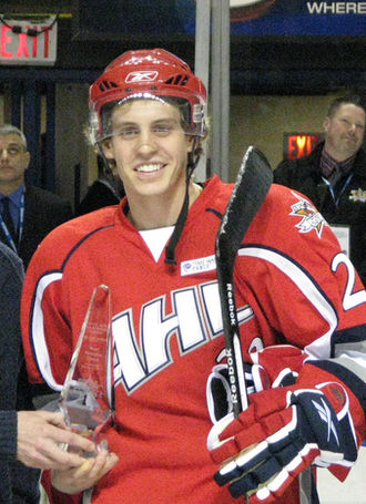 Tyler Ennis (ice hockey) - At the 2010 AHL All-Star Game.