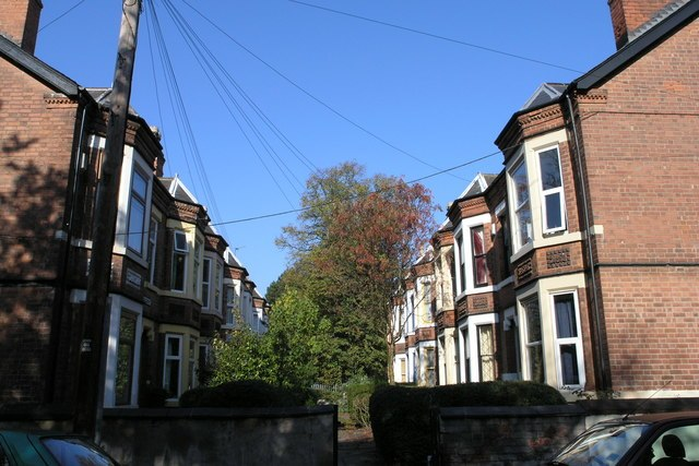 Typical Lenton Scene - geograph.org.uk - 592087