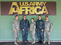 U.S. Service members with the Joint Planning Support Element pose for a photograph in front of U.S. Army Africa Command headquarters in Vincenza, Italy, May 9, 2013 130509-D-EW431-701.jpg