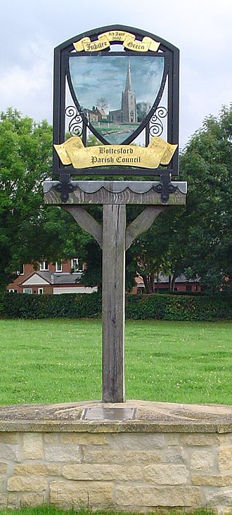 Bottesford, Leicestershire - Village sign in Bottesford