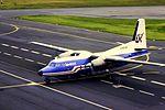 UK F-27 G-BCDO at NCL (15512239534).jpg