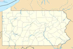 Brandonville, Pennsylvania is located in Pennsylvania