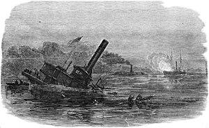 Roanoke Island order of battle - USS Southfield