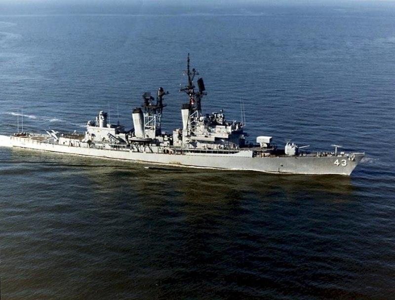 USS Dahlgren (DDG-43) underway c1990