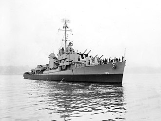USS Douglas H. Fox - Douglas H. Fox in March 1945.
