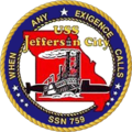 USS Jefferson City SSN-759 Crest.png