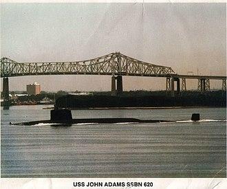 USS John Adams (SSBN-620) - Image: USS John Adams (SSBN 620)