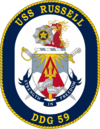 USS Russell DDG-59 Crest.png