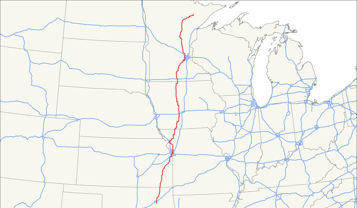 U S Route 169 Wikipedia