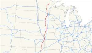 U.S. Route 169 - Image: US 169 map