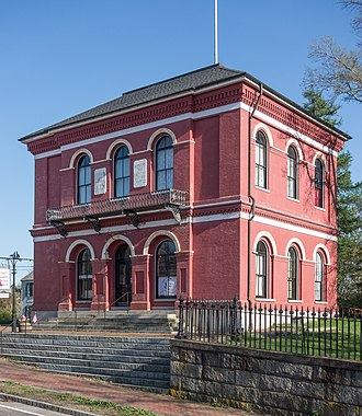United States Customshouse (Barnstable, Massachusetts) - US Customshouse in 2014