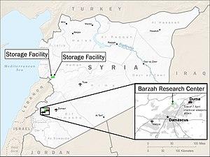 2018 missile strikes against Syria - Wikipedia