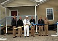 US Navy 070426-N-1082Z-003 Naval Support Activity Norfolk officially cut the ribbon to open the new beach cottages at Dam Neck Annex in Virginia Beach.jpg