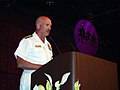 US Navy 070708-N-2888Q-003 Rear Adm. Joseph F. Kilkenny, Commander Navy Recruiting Command, presents the engineering and mathematics awards at the 2007 Academic, Cultural, Technological Scientific Olympics (ACT-SO).jpg