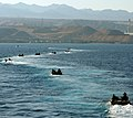 US Navy 090624-N-1831S-108 Amphibious assault vehicles from USS Fort McHenry (LSD 43), transit the Red Sea to conduct a bilateral training exercises.jpg