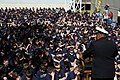 US Navy 091105-N-6736S-100 Rear Adm. Vic Guillory speaks at Holy Cross School in New Orleans.jpg