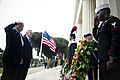 US Navy 100531-N-5549O-100 Secretary of the Navy (SECNAV) the Honorable Ray Mabus participates in a Memorial Day commemoration ceremony in Nettuno Italy.jpg