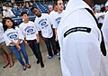 US Navy 100813-N-1688B-010 Future Sailors wait to enlist into the Delayed Entry Program during the 2nd annual Navy Night at Harbor Park.jpg