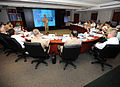 US Navy 110210-N-0512P-003 Adm. Patrick M. Walsh discusses regional issues from his perspective as commander of U.S. Pacific Fleet during the Combi.jpg