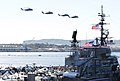 US Navy 110212-N-4378P-383 A formation of helicopters fly over San Diego Bay during the Centennial of Naval Aviation Open House and Parade of Fligh.jpg