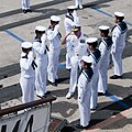 US Navy 111011-N-WX059-209 Adm. Patrick M. Walsh, commander of the U.S. Pacific Fleet, prepares to board the Japan Maritime Self-Defense Force trai.jpg