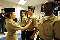US Navy 120105-N-CD297-020 Cadets participate in a uniform inspection.jpg