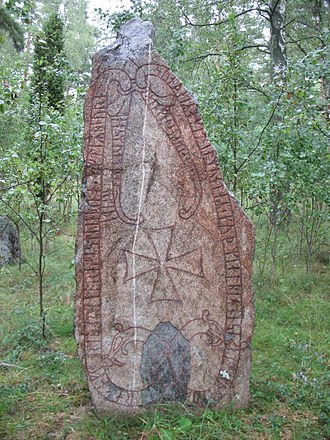 Baltic area runestones - U 356.