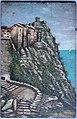 Ucciani.Pierre (tabl) Corse, Cap Corse, Nonza, le rocher et la tour Génoise (huile sur bois) Coll. particulière Cap Corse.jpeg