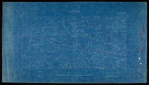 600px uganda. sheet 86 uiii upper half .xd. w.v.m. sept 1907 %28woos 13 5 4 2%29