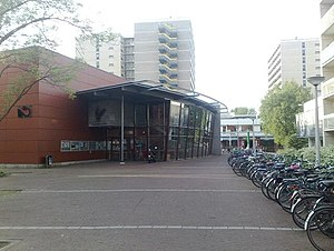 Vrije Universiteit Amsterdam - VU Cultural Centre 'Griffioen', located at Uilenstede campus