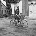 Uitvinder die een opbouwbare fiets bouwde, Bestanddeelnr 900-6541.jpg