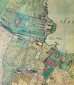 Slotsparken i 1770'erne