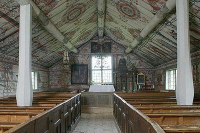 Ulvö gamla kapell