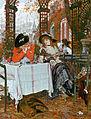 Un Dejeuner - James Tissot.jpg
