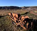 Underground coal-cutter, Mercury Mine, Drumheller, Alberta.jpg